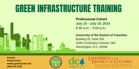 Green Infrastructure Training (Professional Cohort) tickets