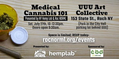 Medical Cannabis 101 tickets