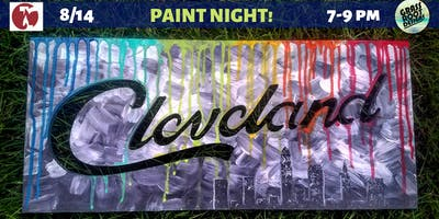 Drippy CLE | Paint Night at Red Lantern!
