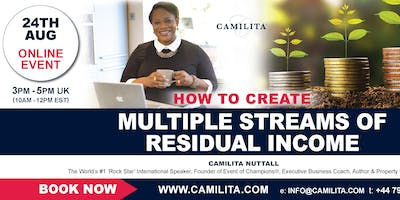 Multiple Streams of Residual Income Online Event