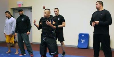 Runner Self Defense Clinic w/ Officer Chris Lopez from Schererville PD