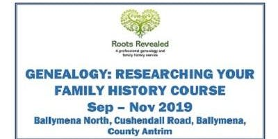 Genealogy: Researching Your Family History Evening Course