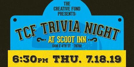The Creative Fund Trivia Night (7/18/19) tickets