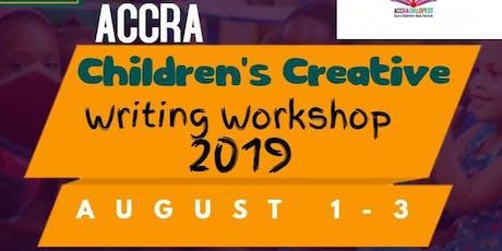 Accra Children's Creative Writing Workshop 2019 tickets