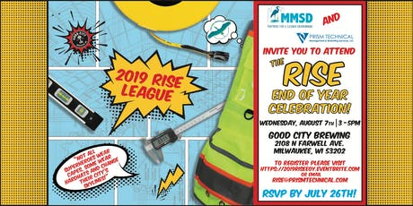 RISE 2019 End of Year Celebration tickets