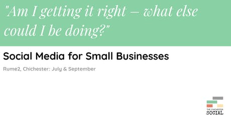 Workshop: Social Media for Small Businesses tickets