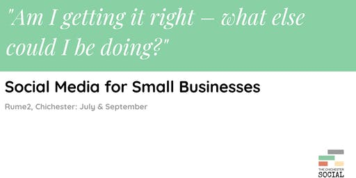 Workshop: Social Media for Small Businesses