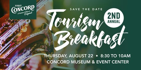 Visit Concord's 2nd Annual Tourism Breakfast tickets