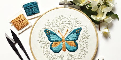 Contemporary Hand Embroidery Workshop tickets