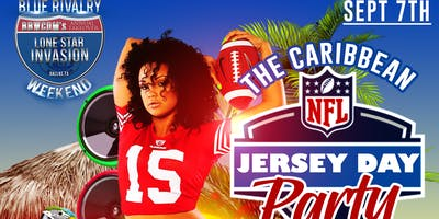 Caribbean NFL Jersey Day Party
