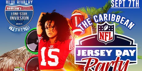 Caribbean NFL Jersey Day Party  tickets