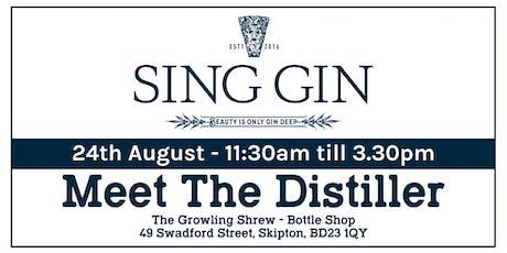 Meet The Distiller - Sing Gin (Kettlesing) tickets
