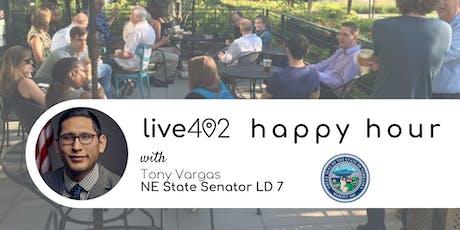Live402 Happy Hour with Senator Tony Vargas tickets