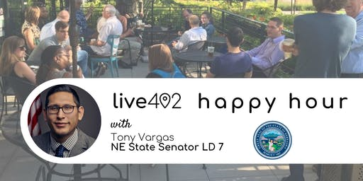 Live402 Happy Hour with Senator Tony Vargas