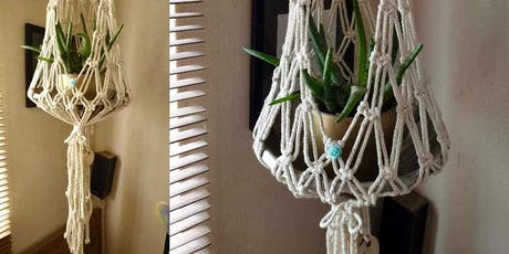 Make a Macrame Flowerpot Holder tickets