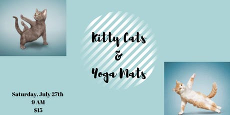 Kitty Cats & Yoga Mats tickets