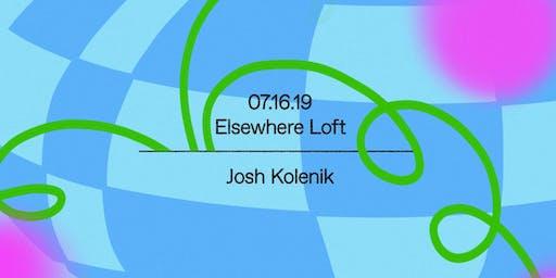 Josh Kolenik (Small Black) - DJ Set @ Elsewhere Loft