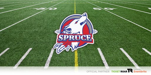 Spruce vs Red Oak Varsity Football