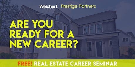 Free! Real Estate Career Seminar tickets