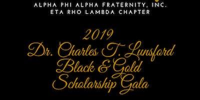 2019 Dr. Charles T. Lunsford Black & Gold Scholarship Gala