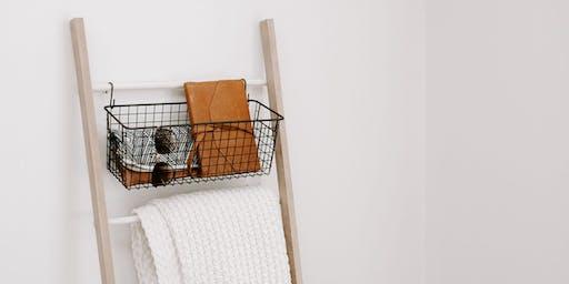 TEEN Tuesday   DIY Copper + Wood Ladder