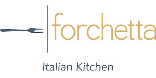 forchetta Noodle Cutting Event
