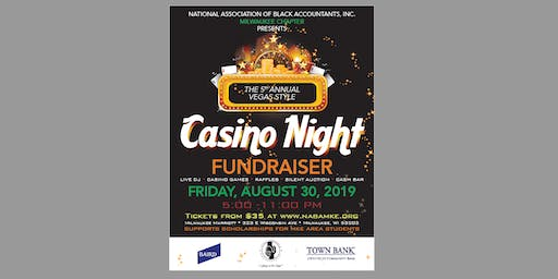 NABA MKE 5th ANNUAL CASINO NIGHT FUNDRAISER
