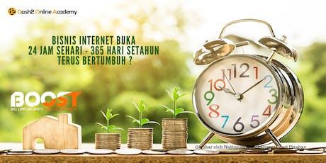 Seminar 3 Skill & 3 Rahasia Strategi Bisnis Internet Millionaire tickets