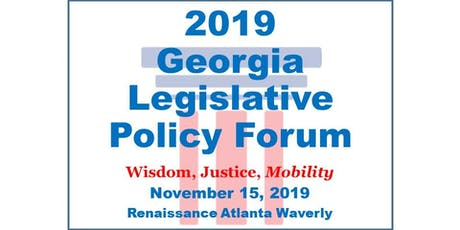 2019 Georgia Legislative Policy Forum tickets