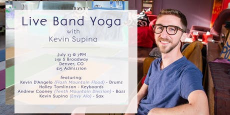 Live Band Yoga with Kevin Supina tickets