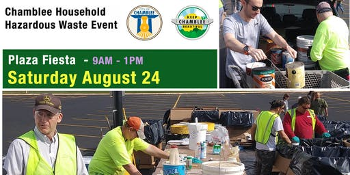 2019 Chamblee+Dunwoody Household Hazardous Waste Recycling