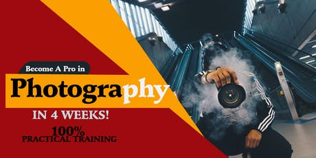 BECOME  A SOUGHT AFTER PHOTOGRAPHER IN JUST ONE MONTH tickets