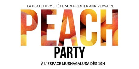 Peach Party - Exposition Collective et anniversaire tickets