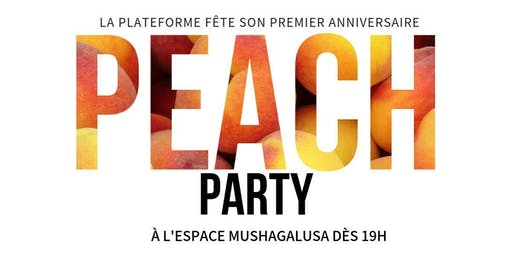 Peach Party - Exposition Collective et anniversaire