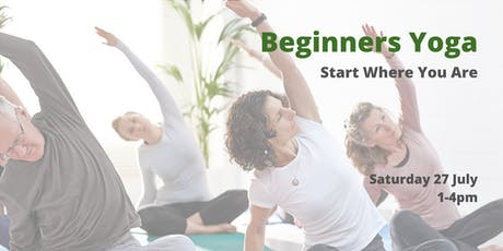 Beginners Yoga: Start Where You Are tickets