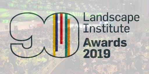 Landscape Institute Awards 2019 ceremony