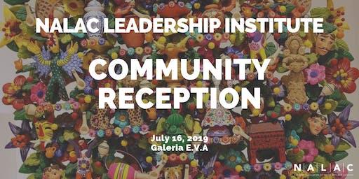 NALAC Leadership Institute: Community Reception