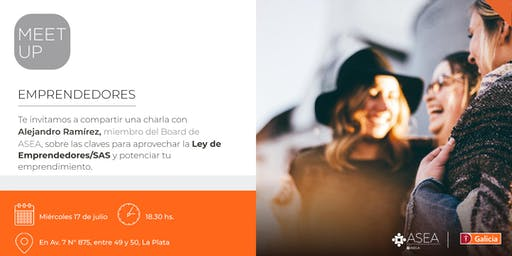 Meet Up para Emprendedores | 17/7 | LA PLATA