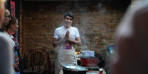 Afghan Cookery Class with Habib at Bakesmiths in Bristol