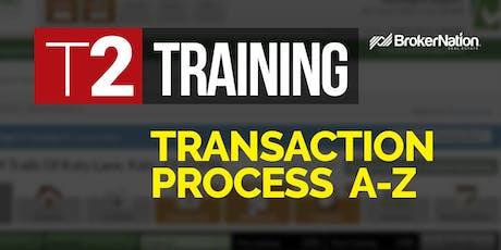 T2: BrokerNation Training 2 - Transaction Process A-Z (by Armando Romero) tickets