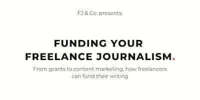Funding Your Freelance Journalism
