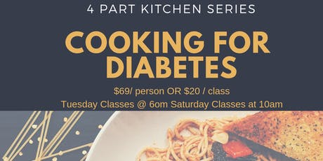 Diabetes Cooking Series tickets