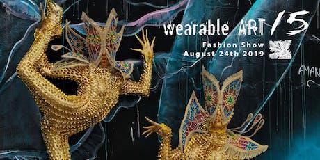 Wearable Art 15 tickets