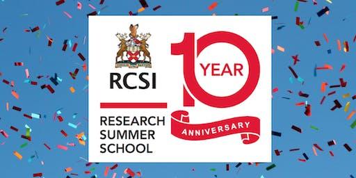 RCSI Research Summer School 10 Year Anniversary & Wrap-Up Symposium