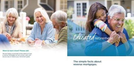 ROSEVILLE Reverse Mortgage Seminar - Plan Your Retirement! tickets