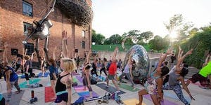 Fun before Flicks: Free Outdoor Yoga Practice with...