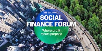 Social Finance Forum 2019
