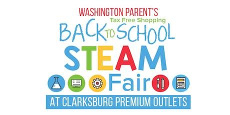 Washington Parent's Back-to-School STEAM Fair tickets