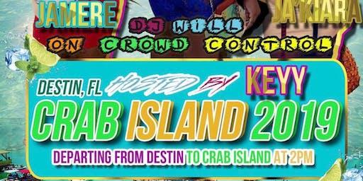 Crab Island Birthday Takeover