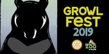 Growl Fest 2019 tickets